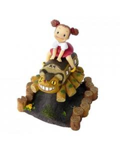 Mon Voisin Totoro - Mini Figurine diorama Mei & Chatbus