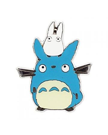 Mon Voisin Totoro - Aimant Totoro Bleu & Totoro Blanc