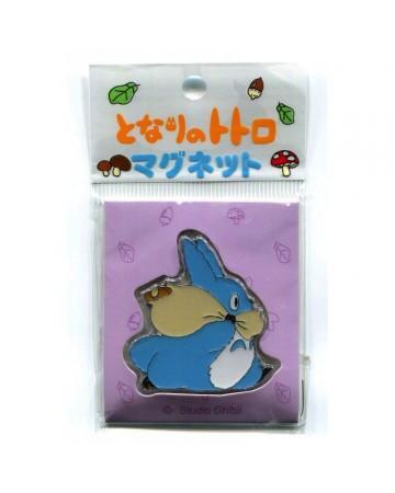 Mon Voisin Totoro - Aimant Totoro bleu running