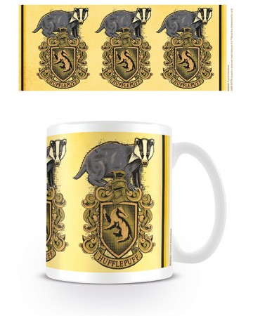 Harry Potter - Mug Hufflepuff Badger Crest