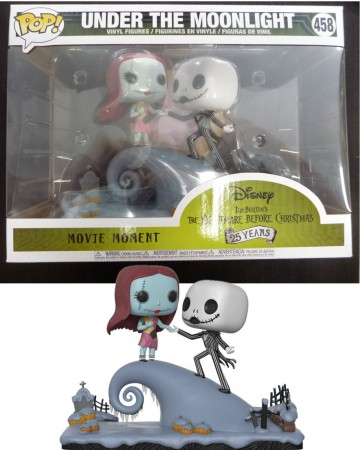 Nightmare Before Christmas - Pop! Movie Moments - Under The Moonlight Jack & Sally