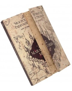 Harry Potter - Carnet de notes A5 The Marauder's Map