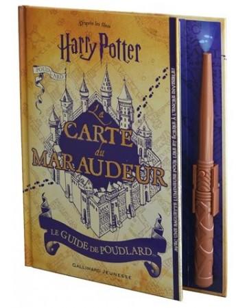 Harry Potter - La carte du Maraudeur : Le guide de Poudlard