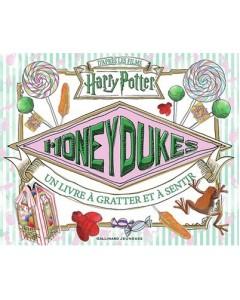 Harry Potter - Honeydukes : un livre à gratter et à sentir