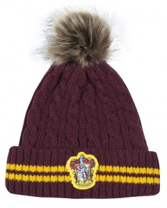 Harry Potter - Bonnet pompon Gryffindor