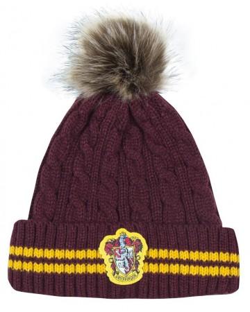 Harry Potter - Bonnet pompon Gryffindor