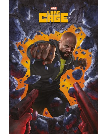 Marvel - grand poster Luke Cage (61 x 91,5 cm)