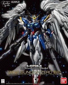 Gundam - High-Resolution Model Wing Gundam Zero EW (1/100)