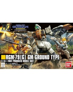 Gundam - HGUC 1/144 GM Ground Type