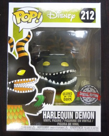 Nightmare Before Christmas - Pop! - Harlequin Demon Glow in the dark exclusive