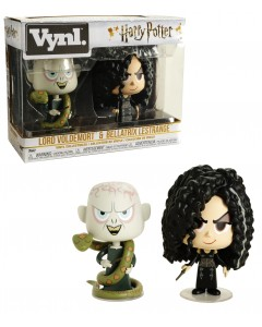 Harry Potter - VYNL. - Figurines Bellatrix Lestrange & Lord Voldemort