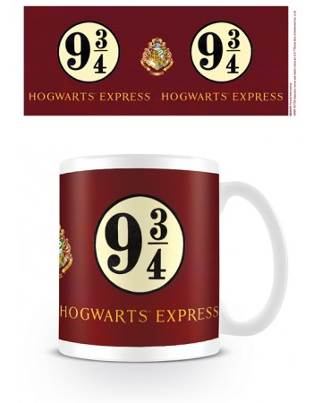 Harry Potter - Mug Platform 9 3/4 Sign
