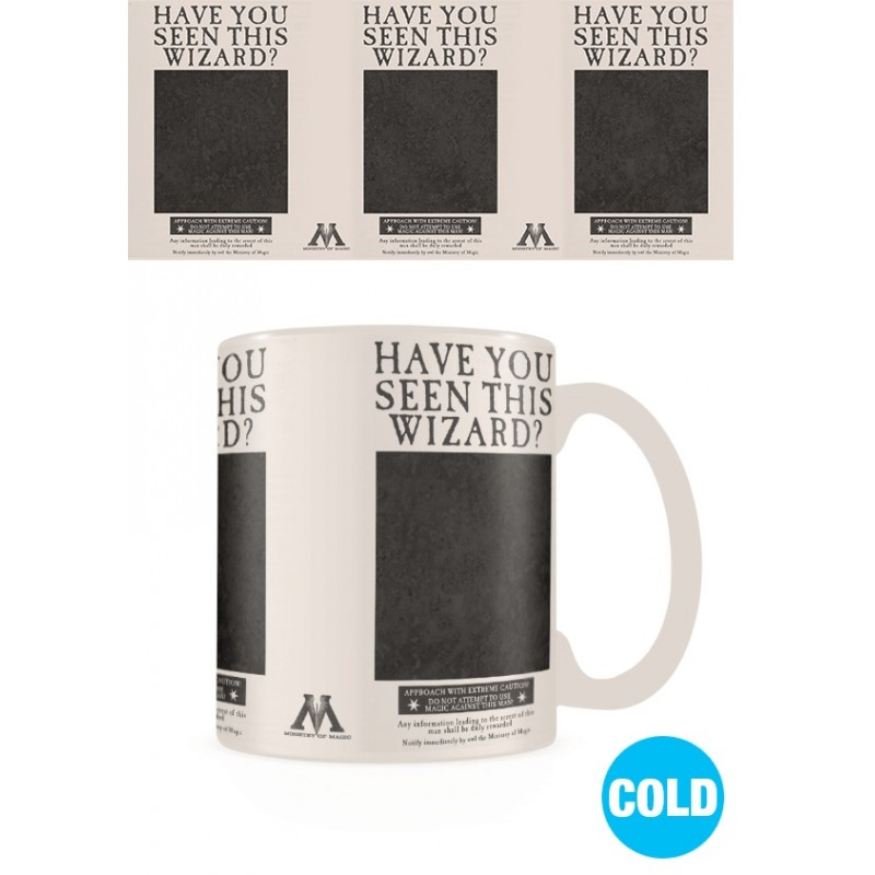 Harry Potter Mug thermo-réactif Wanted Sirius Pyramid