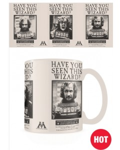 Harry Potter - Mug thermo-réactif Wanted Sirius