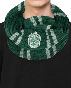 Harry Potter - écharpe infinie Slytherin