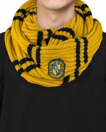 Harry Potter - écharpe infinie Hufflepuff