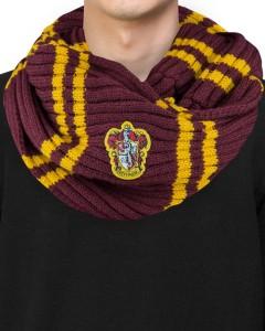 Harry Potter - écharpe infinie Gryffindor