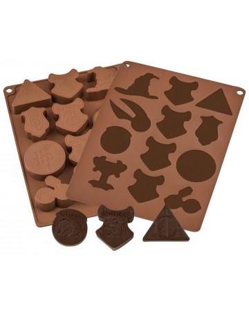 Harry Potter - Moule à glaçons et chocolats Icons