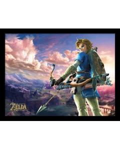Zelda - poster encadré Breath Of Wild - Landscape