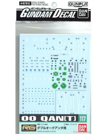 Gundam Decal (RG) for 00 QAN[T]