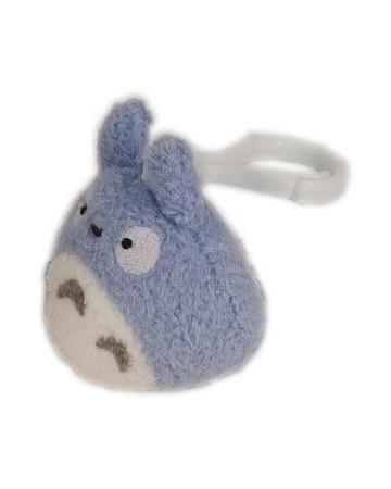 Mon voisin Totoro - peluche Totoro bagclip bleu 6 cm