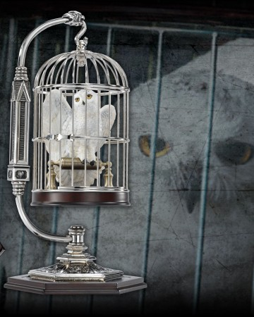 Harry Potter - Hedwige miniature en cage