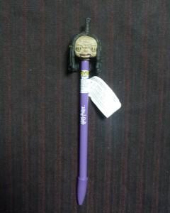 Harry Potter - Pop! - Stylo et topper Shrunken Head (Knight Bus) exclusive