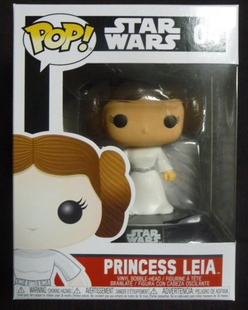 Star Wars - Pop! - Princess Leia (black packaging)