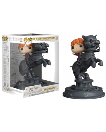 Harry Potter - Pop! - Movie Moments : Ron riding chess piece