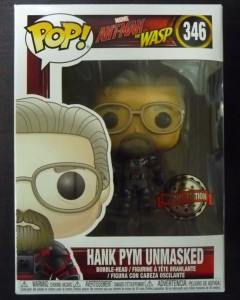 Ant-Man & The Wasp - Pop! - Hank Pym Unmasked exclusive