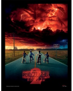 Stranger Things - poster encadré Mind Flayer