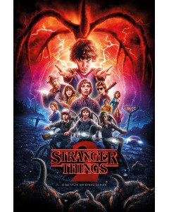 Stranger Things - grand poster Season 2 (61 x 91,5 cm)