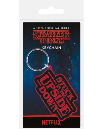 Stranger Things - Porte-clé PVC Stuck In The Upside Down