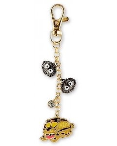 Mon Voisin Totoro - Porte-clé strap métal Chatbus