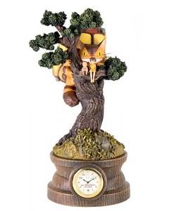 Mon voisin Totoro - Diorama Horloge Chatbus dans l'arbre