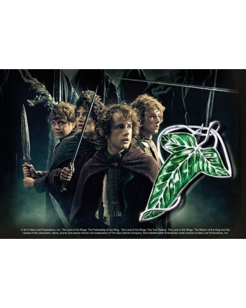 Lord of the Rings - broche de la Lorien (argent massif)