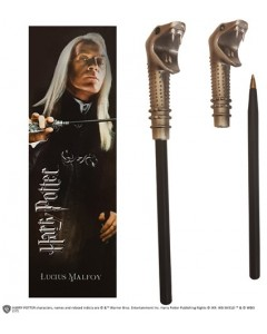 Harry Potter - Stylo baguette + marque-page Lucius Malfoy