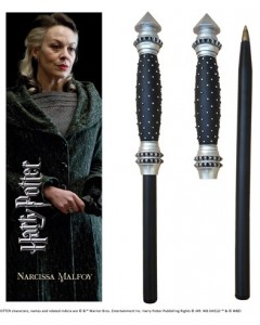 Harry Potter - Stylo baguette + marque-page Narcissa Malfoy