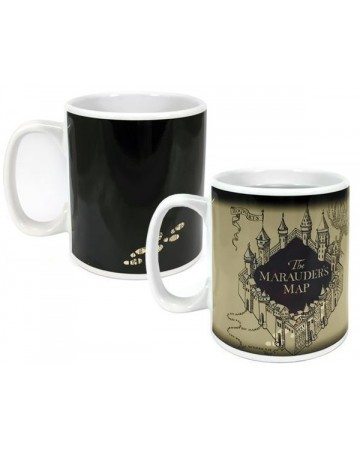 Harry Potter - Mug thermo-réactif Marauder's Map V2