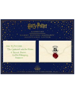Harry Potter - Set d'aimants Hogwarts Acceptance Letter