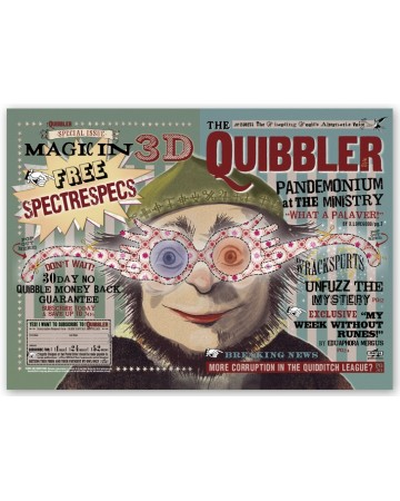 Harry Potter - Poster The Quibbler 50 x 69 cm