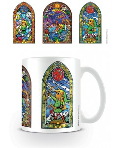 Zelda - Mug Stained Glass Tri