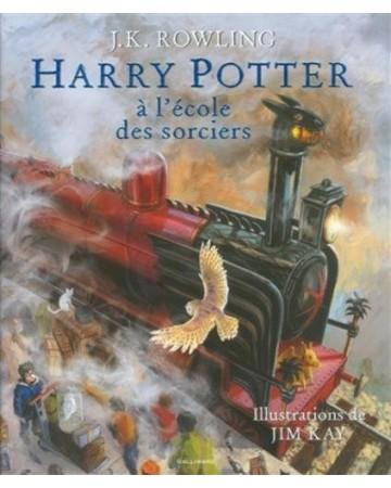Harry Potter Tome 1 : A l'école des Sorciers (illustré)