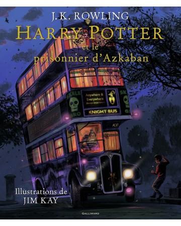 Harry Potter Tome 3 : Et le prisonnier d'Azkaban (illustré)