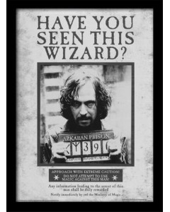 Harry Potter - poster encadré Sirius Wanted