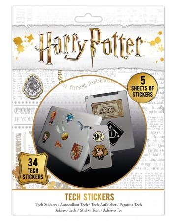 Harry Potter - Set de 34 stickers Artefacts