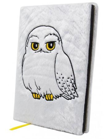 Harry Potter - Carnet Premium fluffy Hedwige