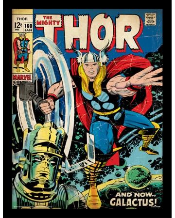 Marvel - poster encadré Thor (Galactus)