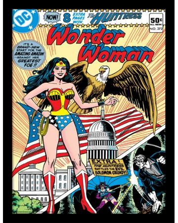 DC Comics - poster encadré Wonder Woman (Eagle)
