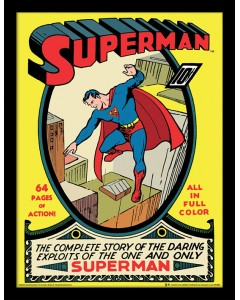 DC Comics - poster encadré Superman (No.1)
